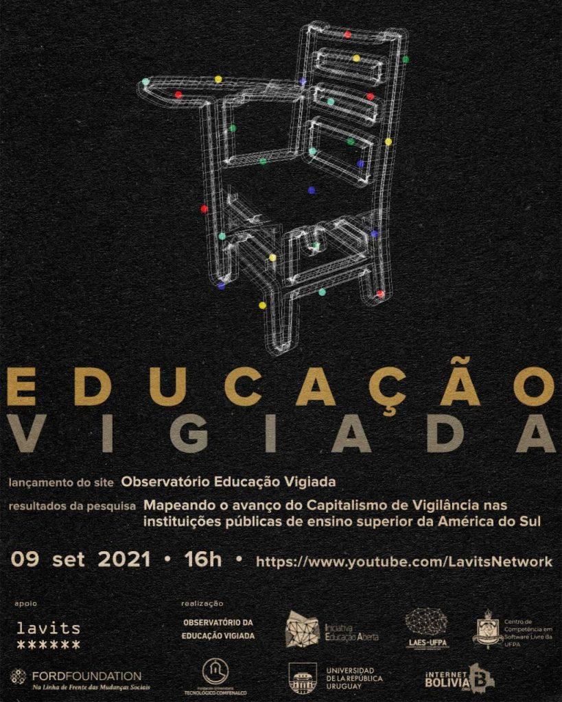 Divulgação - Cartaz - Observatório Educação Vigiada